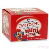 Alfajor mini fantoche blanco/negro 18u