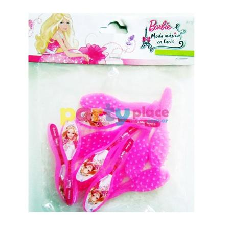 Mini cepillos Barbie 12u