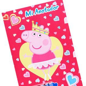 Anotadores mini Peppa Pig 10u