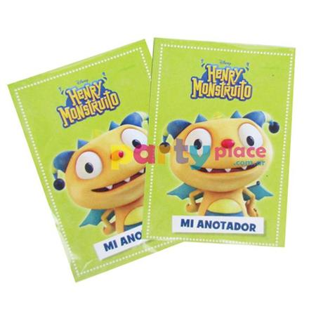 Anotadores mini Henry Monstruito 10u