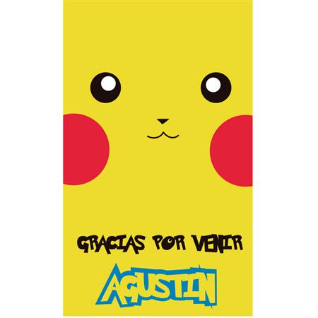 Stickers Pokemon 16u. Personalizadas