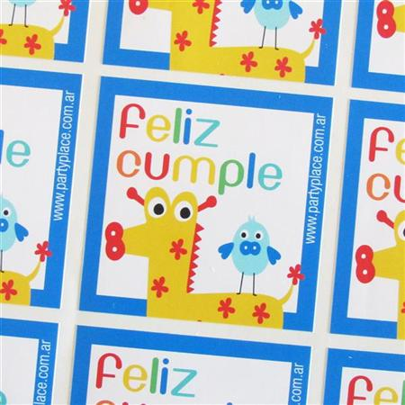 Stickers Animalitos 16u