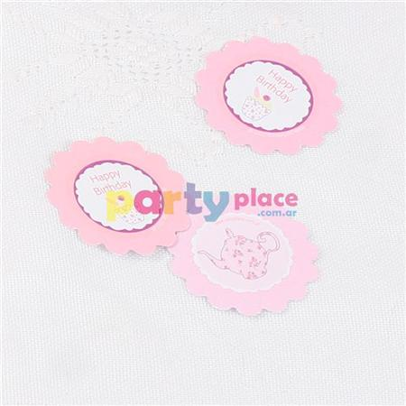 Confetti flor Tea Party 24u