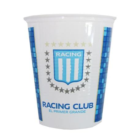 Vasos plásticos Racing 10u