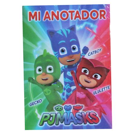 Anotadores mini Héroes en Pijamas 10u