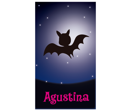 Stickers rectangulares Vampirina 14u