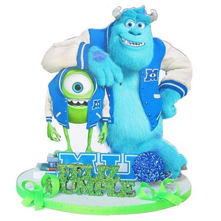 Adorno base telgopor Monsters University